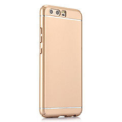 Недорогие Чехлы и кейсы для Huawei Mate-Кейс для Назначение Huawei P10 Plus P10 Ультратонкий Матовое Кейс на заднюю панель Сплошной цвет Твердый ПК для P10 Plus P10 Honor 9