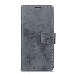 hoesje Voor Huawei Mate 9 Pro Mate 9 Portemonnee Kaarthouder Flip Volledige behuizing Effen Kleur Hard PU-leer voor Mate 10 Mate 10 pro