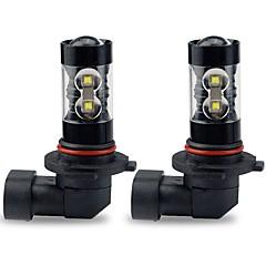 billige HID- og halogenlamper-2pcs Elpærer 50W Høj præstations-LED 10 Hovedlygte For Toyota Corolla 2016 / 2015 / 2014