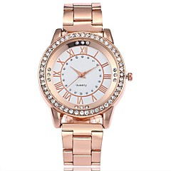 Men's Women's Casual Watch Fashion Watch Wrist watch Chinese Quartz Large Dial Alloy Band Casual Silver Gold Rose Gold