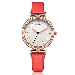 preiswerte Tolle Angebote auf Uhren-KEZZI Damen Armbanduhr Japanisch Armbanduhren für den Alltag PU Band Freizeit / Modisch / Elegant Schwarz / Weiß / Blau