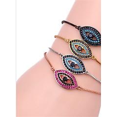 preiswerte Armbänder-Damen Diamant Ketten- & Glieder-Armbänder - Zirkon Armbänder Schwarz / Silber / Rotgold Für Geschenk / Alltag