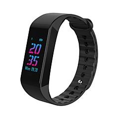 billige Smarture-Smart armbånd Bluetooth Vandafvisende Brændte kalorier Touch Sensor APP kontrol Pulse Tracker Skridtæller Aktivitetstracker Sleeptracker