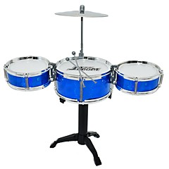 お買い得  オルゴール-ドラムセット 玩具 おもちゃ 円形 ドラムキット ジャズドラム PUレザー/ポリウレタンレザー 小品 男の子用 女の子 ギフト