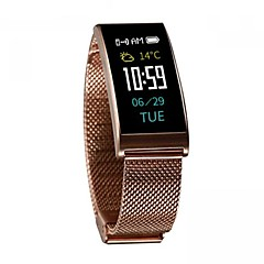 billige Elegante ure-smart armbånd x3 stål stripe farve multi-sport mode hjertefrekvens vandtæt til ios android telefon