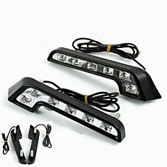 abordables Luces de Circulación Diurna-2pcs Bombillas 6W LED de Alto Rendimiento 6 Luz de Circulación Diurna For Mercedes-Benz C200 / C180 / Classic Universal