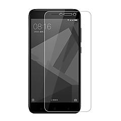 Недорогие Защитные плёнки для экранов Xiaomi-Защитная плёнка для экрана XIAOMI для Xiaomi Redmi 4X Закаленное стекло 1 ед. Защитная пленка для экрана 2.5D закругленные углы Уровень