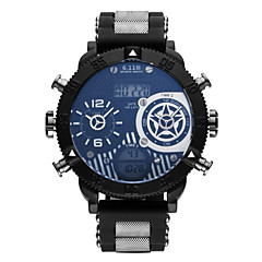 Hombre Niños Reloj de Pulsera Reloj Casual Reloj de Moda Japonés Cuarzo Calendario Cronógrafo Reloj Casual Acero Inoxidable Banda Casual