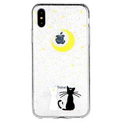 Недорогие Кейсы для iPhone 7-Кейс для Назначение Apple iPhone X iPhone 8 iPhone 8 Plus iPhone 6 iPhone 6 Plus iPhone 7 Plus iPhone 7 Полупрозрачный С узором Кейс на