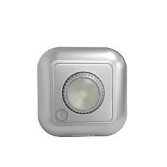 abordables Luces LED de Armario-sensor de movimiento debajo de la luz del gabinete led luz de paso luces seguras 3 * aaa baterías alimentadas (no incluidas)