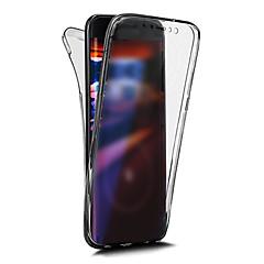 tanie Etui do iPhone 6 Plus-Kılıf Na Apple iPhone X iPhone 8 Other Pełne etui Solid Color Miękkie TPU na iPhone X iPhone 8 Plus iPhone 8 iPhone 7 Plus iPhone 7