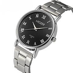 preiswerte Tolle Angebote auf Uhren-Herrn Armbanduhren für den Alltag / Modeuhr / Kleideruhr Chinesisch Chronograph / Armbanduhren für den Alltag Edelstahl Band Freizeit / Elegant / Weihnachten Silber