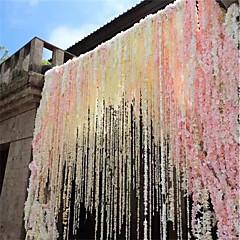 Недорогие Женские украшения-Искусственные Цветы 1 Филиал Modern Фиолетовый Цветы на стену