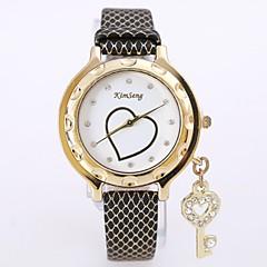 preiswerte Armbanduhren für Paare-Damen / Paar Armbanduhr Chinesisch Armbanduhren für den Alltag / Cool Legierung Band Luxus / Freizeit / Modisch Silber / Gold / Rotgold