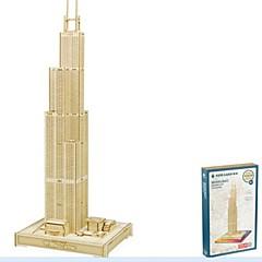 preiswerte -Holzpuzzle Modellbausätze Holzmodell Haus Sears Tower Geburtstag Valentinstag Maskerade Mode Gute Qualität 5 bis 7 Jahre 8 bis 13 Jahre