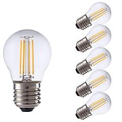 preiswerte LED-Birnen-GMY® 6pcs 3W 300lm E27 LED Glühlampen P45 4 LED-Perlen COB LED-Lampe Warmes Weiß 220-240V