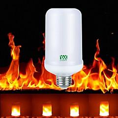 1pc E27 4W 99leds LED Flame Effect Fire Light Led Corn Light AC85-265V