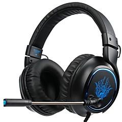 Χαμηλού Κόστους Ακουστικά κεφαλής και ψείρες-SADES R5 Κεφαλόδεσμος Ενσύρματη Ακουστικά Κεφαλής Δυναμικός Πλαστική ύλη Ηλεκτρονικό Παιχνίδι Ακουστικά Με Μικρόφωνο Ακουστικά