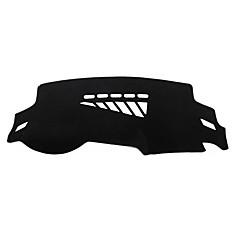 abordables Cojines y Mantas-Automotor Estera del tablero de instrumentos Esterillas de interior para coche Para Audi Todos los Años A4L