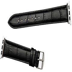 billige Apple Watch urremme-Urrem for Apple Watch Series 3 / 2 / 1 Apple Klassisk spænde Læder Håndledsrem