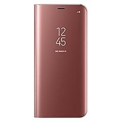 billige -Etui Til Samsung Galaxy S8 Plus / S8 Med stativ / Flip Fuldt etui Ensfarvet Hårdt PU Læder for S8 Plus / S8
