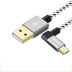 halpa Kaapelit ja adapterit-CE-Link USB 2.0 Kaapeli, USB 2.0 to Mikro USB 2.0 Kaapeli Uros - Naaras 0,15 m (0.5Ft) 480 Mbps