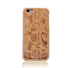 Недорогие Кейсы для iPhone 6-Кейс для Назначение Apple iPhone 6 Защита от удара Геометрический рисунок Твердый для Apple