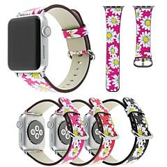 voordelige Apple Watch-bandjes-Horlogeband voor Apple Watch Series 3 / 2 / 1 Apple Polsband Moderne gesp PU