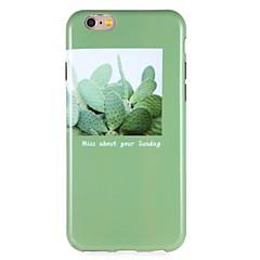 Недорогие Кейсы для iPhone 6-Кейс для Назначение Apple iPhone 6 iPhone 7 С узором Кейс на заднюю панель Пейзаж Мягкий ТПУ для iPhone 7 Plus iPhone 7 iPhone 6s Plus
