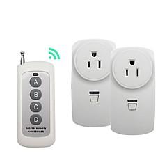 abordables Alarmas y Seguridad-broadlink 1 a 2 us enchufe inalámbrico rf interruptor de control remoto para uso doméstico inteligente con rm pro