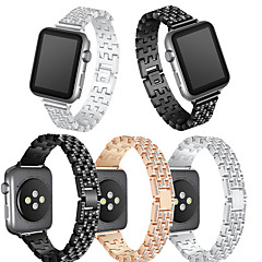 olcso Apple Watch sávok-Nézd Band mert Apple Watch Series 3 / 2 / 1 Apple Csuklópánt Modern csat Fém