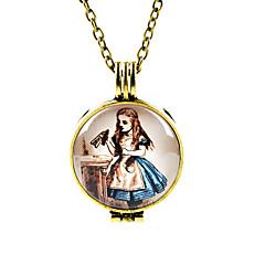 お買い得  ネックレス-女性用 ペンダントネックレス  -  ヴィンテージ, ファッション 青銅色 ネックレス ジュエリー 用途 日常