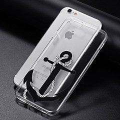 billige Etuier til iPhone 6-Etui Til Apple iPhone 8 iPhone 8 Plus iPhone 6 iPhone 6 Plus iPhone 7 Plus iPhone 7 Transparent Mønster Bagcover Anker Blødt TPU for