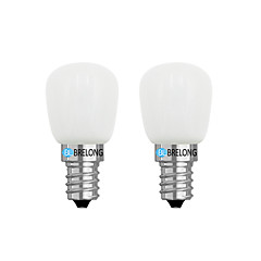 cheap LED & Lighting-2pcs 2W 120lm E14 E12 LED Globe Bulbs 1 LEDs COB Dimmable Warm White White 3000-3500  6000-6500K AC 220V