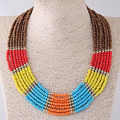 preiswerte Halsketten-Damen Kragen - Harz Böhmische, Modisch, Boho Braun Modische Halsketten Für Alltag