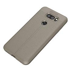 Недорогие Чехлы и кейсы для LG-Кейс для Назначение LG V30 Q6 Ультратонкий Кейс на заднюю панель Сплошной цвет Мягкий ТПУ для LG V30 LG Q6 Plus LG Q6 LG G6