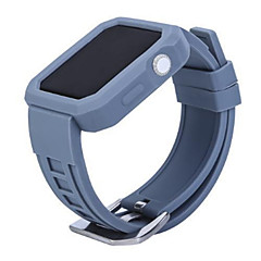 abordables Correas para Apple Watch-Ver Banda para Apple Watch Series 3 / 2 / 1 Apple Correa Deportiva Silicona Correa de Muñeca