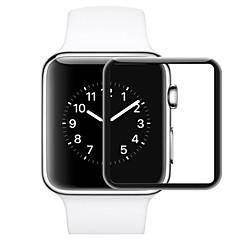 abordables Protectores de Pantalla para Apple Watch-Protector de pantalla Para 38mm iWatch 42mm iWatch Vidrio Templado A prueba de explosión Dureza 9H Alta definición (HD) 1 pieza