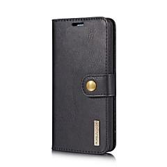 Недорогие Чехлы и кейсы для LG-Кейс для Назначение LG V30 G6 Бумажник для карт со стендом Флип Чехол Сплошной цвет Твердый Кожа PU для LG V30 LG G6