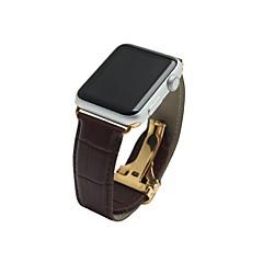 abordables Accesorios para Apple Watch-Ver Banda para Apple Watch Series 2 Apple Watch Series 1 Apple Hebilla Clásica Cuero Auténtico Correa de Muñeca