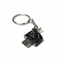 お買い得  メモリカード-Apacer MicroSD/MicroSDHC/MicroSDXC/TF USB 2.0 タイプC カード読み取り装置 フラッシュドライブ
