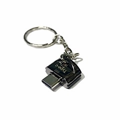 abordables Tarjetas de Memoria-Apacer MicroSD/MicroSDHC/MicroSDXC/TF USB 2.0 Tipo-c Lector de tarjetas Memoria USB