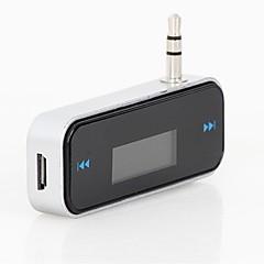 Недорогие Bluetooth гарнитуры для авто-автомобильный FM-передатчик для смартфона bluetooth беспроводной авто плеер аудиоустройства fm modulator lcd дисплей автомобильные
