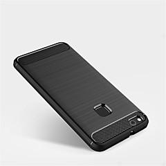 お買い得  Huawei Pシリーズケース/ カバー-ケース 用途 Huawei P10 Lite / P10 つや消し バックカバー ソリッド ソフト TPU のために P10 Plus / P10 Lite / P10