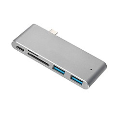 preiswerte Kabel & Adapter-Cwxuan USB 3.1 Typ C Adapter, USB 3.1 Typ C to USB 3.0 USB 3.1 Typ C Adapter Male - Female 10 Gbps