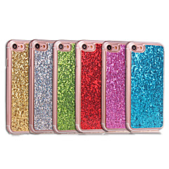 Недорогие Кейсы для iPhone 6 Plus-Кейс для Назначение Apple iPhone 8 / iPhone 8 Plus Защита от удара Кейс на заднюю панель Сияние и блеск Мягкий Акрил для iPhone 8 Pluss / iPhone 8 / iPhone 7 Plus