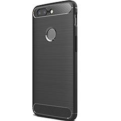 お買い得  その他のケース-ケース 用途 OnePlus OnePlus 5T つや消し バックカバー ライン/ウェイブ 純色 ソフト カーボンファイバー のために OnePlus 5T