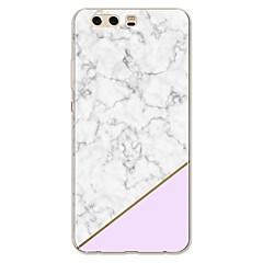 billige Etuier til Huawei-Etui Til Huawei P10 Plus P10 Lite Mønster Bagcover Marmor Blødt TPU for P10 Plus P10 Lite P10 P9 P9 Lite P9 Plus P8 P8 Lite P7 Honor 9