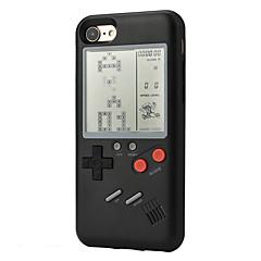 Недорогие Кейсы для iPhone 7 Plus-Кейс для Назначение Apple iPhone 7 Plus iPhone 7 Защита от удара Игровой случай Кейс на заднюю панель 3D в мультяшном стиле Твердый ПК для