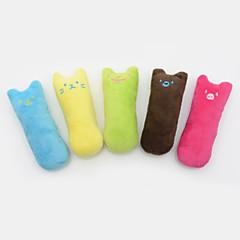 お買い得  猫用おもちゃ-キャットニップ ぬいぐるみ キュート ファブリック 用途 ネコ 猫用おもちゃ
